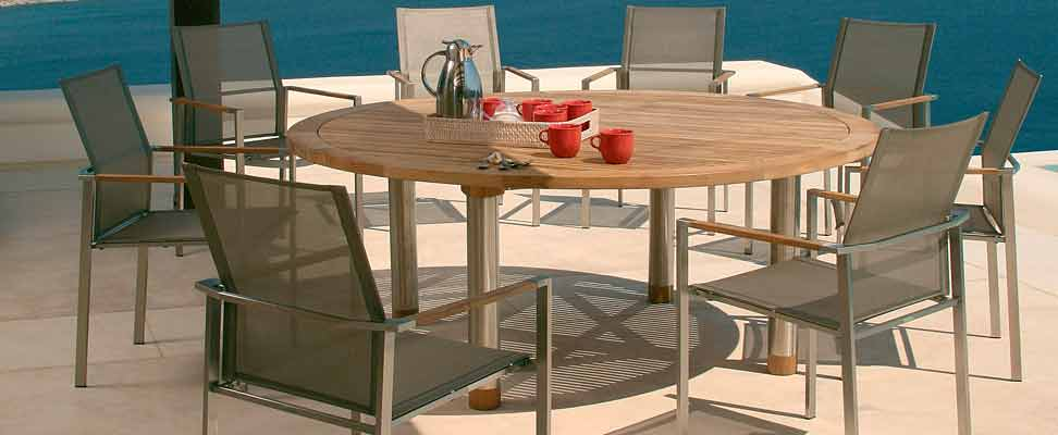 Barlow Tyrie Equinox stainless steel outdoor furniture