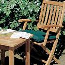 Ascot teak folding chairs